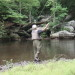 Nantahala River Lodge - Great Smoky Mountains Trout Fishing in Calderwood Lake