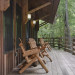Nantahala River Lodge - Relax on the deck overlooking the Nantahala River