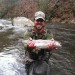 Nantahala River Lodge - Rainbow Trout Fishing in the Front Yard