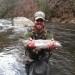 Nantahala River Lodge - Rainbow Trout Fishing in the Front Yard