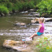 Nantahala River Lodge - Kids love fishing in the Nantahala River