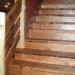 Nantahala River Lodge - Stairwell made from reclaimed Cherry Wood beams and Locust Wood from Old Family Farm